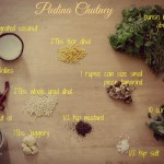 south indian pudina chutney ingredients. simple recipe. Yummy goodness |kannammacooks.com #pudina #mint #chutney #quick #south #indian