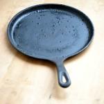 How to season your iron dosa pan