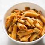 Healthy_Vegan_Rigatoni_Mushroom_Bolognese |kannammacooks.com #healthy #recipe #ragu #bolognese #mushroom #rich #soffrito #pasta #rigatoni #lite #dinner #mushroom-bolognese #easy-to-make