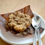 Eggless Banana Muffins with Cinnamon Streusel topping, Easy Banana Muffins