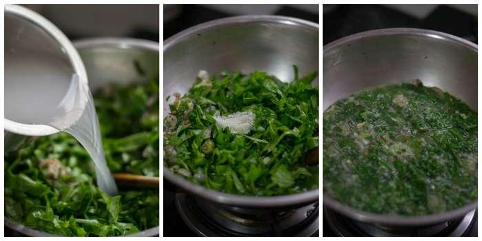 Chettinad-Keerai-Mandi-Recipe-Add-Mandi