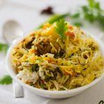 Soya Biryani Recipe, Soya Kheema Biryani