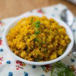 Amit's Aloo Poha – Batata Poha Recipe – Aval Upma, Easy Potato Poha