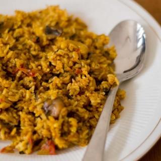 Chettinad-spicy-mushroom-biryani-recipe