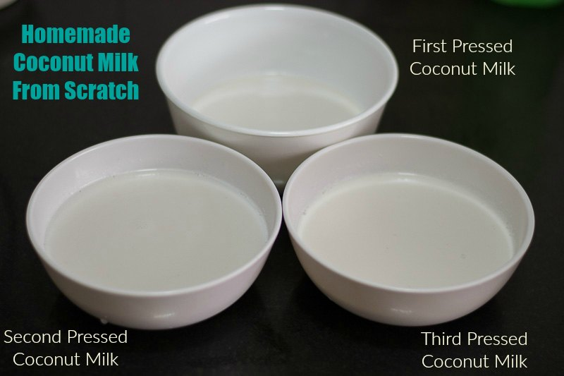 Homemade coconut milk Recipe, Coconut Milk Recipe