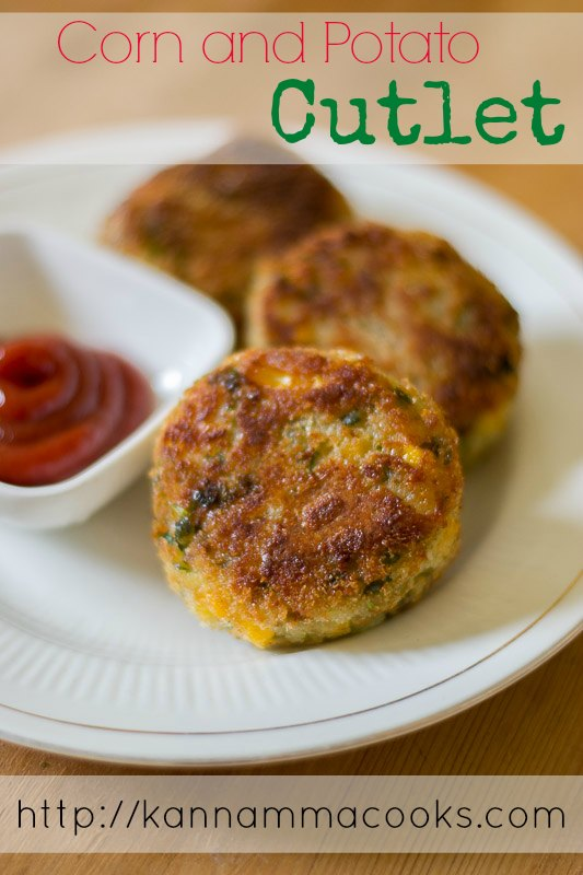 Corn Cutlet Shallow Fry #appetizer #snack #recipe #partyfood #easyrecipe