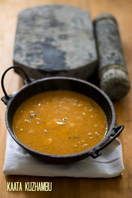Kongunadu-Kaata-Kuzhambu-Recipe