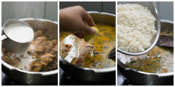 chicken-biryani-pressure-cooker-method-add-rice