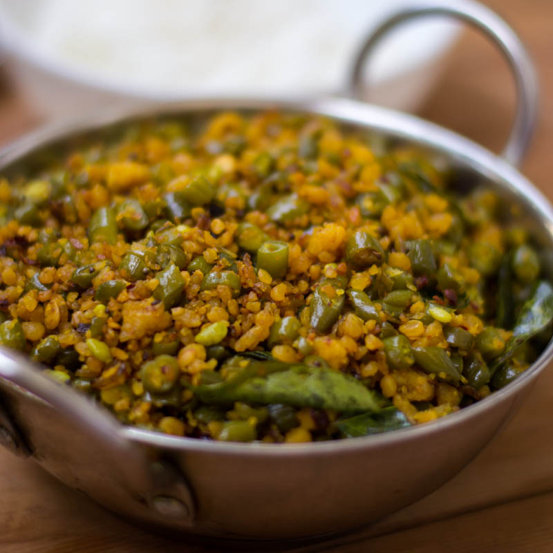 Recipes With Chicken Lemon And Garlic: Beans Usili Recipe, Paruppu Usili Recipe, Usili Recipe