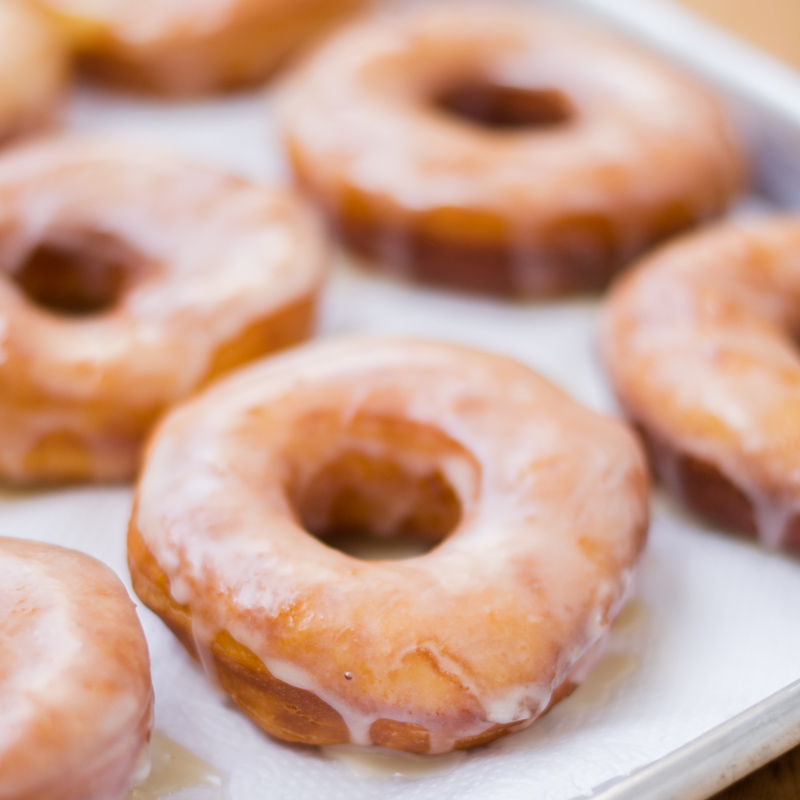 Classic Original Glazed Doughnuts Recipe #yeasted #doughnuts #glazed #classic #original #donut #creamy #homemade #scratch #baking #foolproof #tested #recipe #holidays #treat #yummy