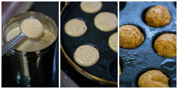 Chola-paniyaram-recipe-fry