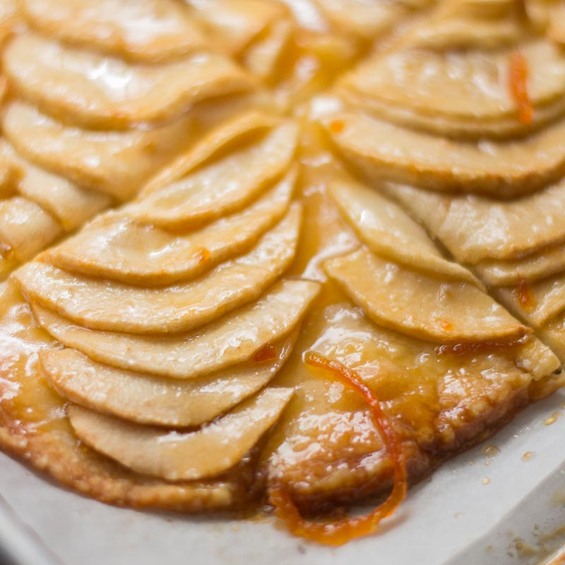 Apple Tart Easy Baked Apple Tart Rustic Apple Tart