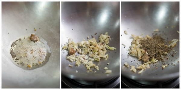 Poondu-rasam-recipe-fry
