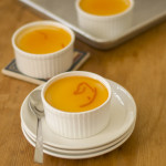 Baked Vanilla Yogurt Recipe, Baked Vanilla Yogurt with Orange Glaze Sauce