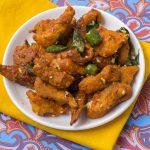 Kori Kempu Bezule / Mangalore Chicken Bezule