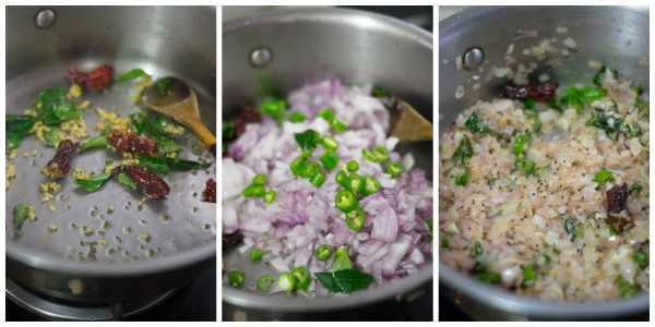pasi-payaru-upma-recipe-tempering