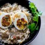 Egg Biryani – Muttai Biryani in Pressure Cooker
