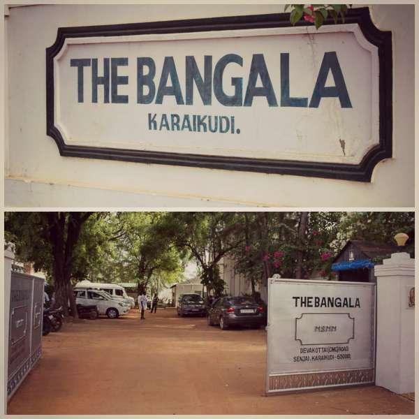 Bangala-hotel-karaikudi-Gate