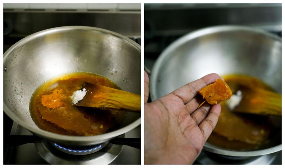 Bengaluru-darshini-style-sambar-recipe-restaurant-sweet-sambar-7