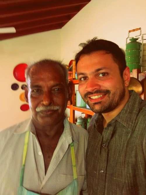 Chef Karuppaiah and Rakesh Raghunathan