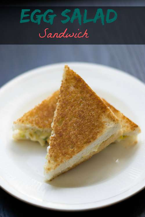 Egg Salad Sandwich made with Eggs, cucumber and Mayo #sandwich #egg #salad #quickbite