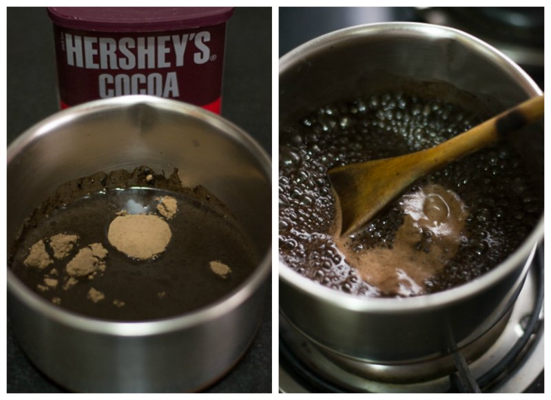 Eggless-Chocolate-mousse-pudding-with-china-grass-recipe-cocoa