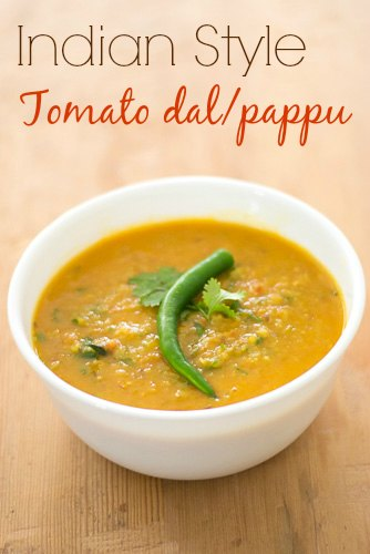 Indian-Tomato-pappu-dal-andhra-style-masoor-dal-in-tomatoes-recipe  kannammacooks.com #andhra #telugu #style #tomato #pappu #ghee #rice #dal #lunch #dal #soup #comfort