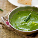 Indian-palak-paneer-recipe-spinach-curry-with-cheese |kannammacooks.com #palak #spinach #six #ingredient #easy #healthy #quick #cheese #curry #everyday #lunch #indian