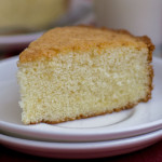 Plain Vanilla Sponge Cake – Moist and Fluffy