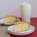 Moist-fluffy-best-simple-vanilla-cake-hot-milk-cake-indian-tea-cake-serve |kannammacooks.com #indian #tea #cake #vanilla #sponge #plain #crumb #yummy