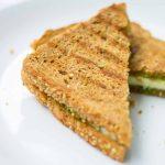 Paneer Sandwich Recipe, Paneer stuffed sandwich
