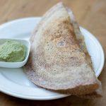 Fermented Ragi Dosa – Finger millet Dosa