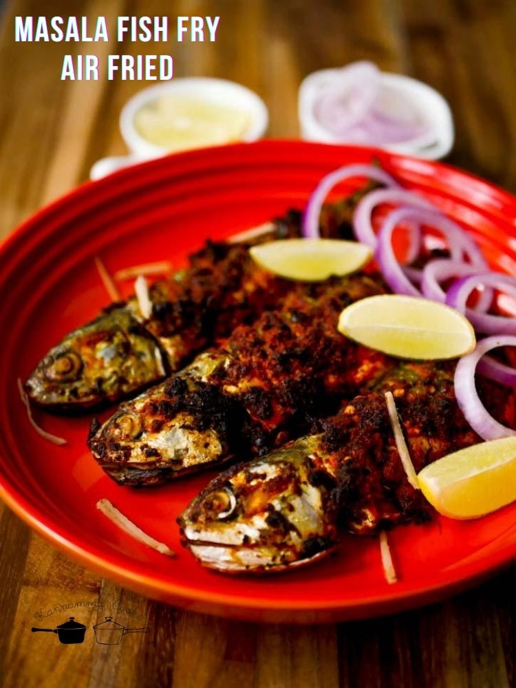 South-Indian-Masala-Fish-Fry-in -Air-Fryer