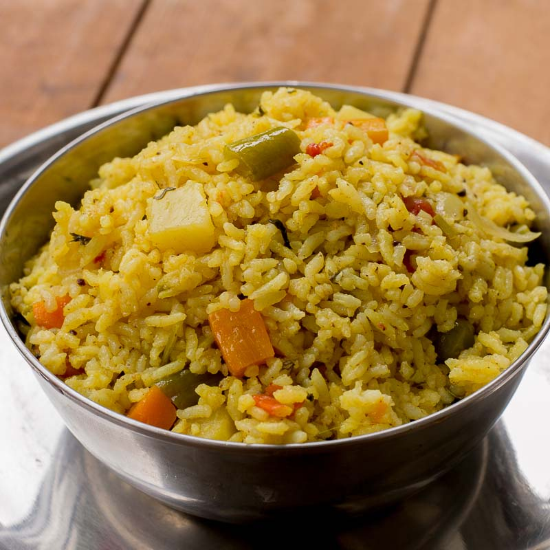 Vegetable biryani vegetable biryani using pressure cooker forumfinder Choice Image
