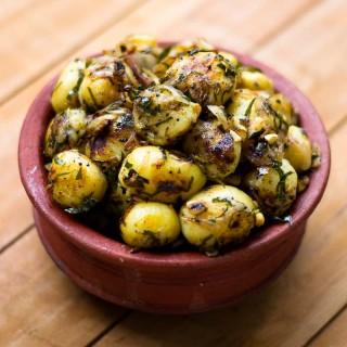 Tamil-baby-potato-fry