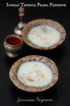Tapioca pearl pudding - Indian Tamilnadu style Javvarisi payasam. Easy recipe #tapioca #pudding #payasam #pearl