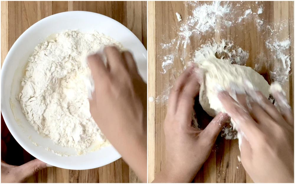 Thengai-bun-tamil-Indian-bakery-style-coconut-bun-oven-recipe-3