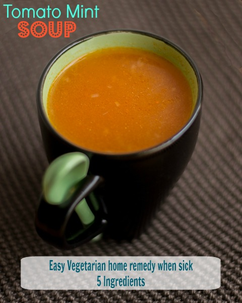 Tomato-Mint-Soup-For-Cold-Fever-Recipe