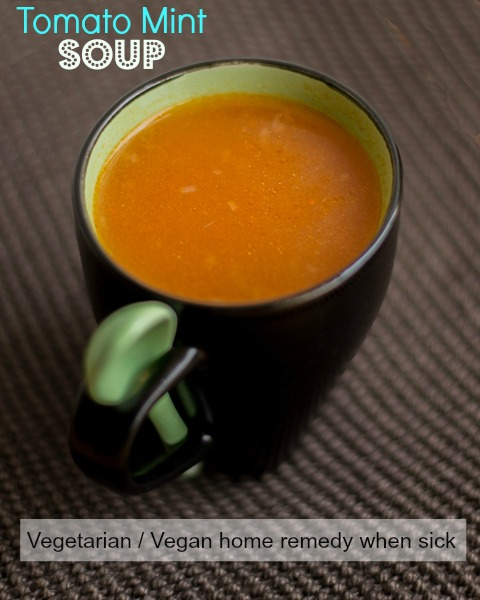 Tomato-Mint-Soup-For-Cold-Fever
