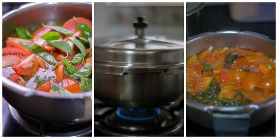 Tomato-soup-with-basil-classic-recipe-cook-veggies