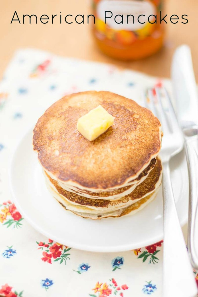 Traditional-American-fluffy-basic-pancakes