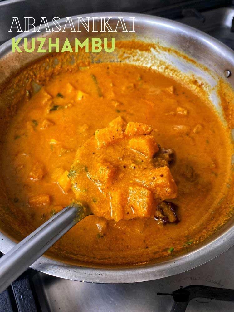 arasanikai-kuzhambu