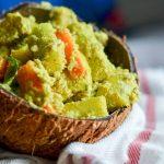Avial Recipe – Steamed Veggies in Coconut Sauce