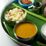 Bas saaru and cabbage palya, Karnataka style curry made with veggie stock