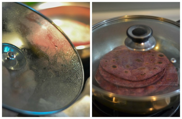 beetroot-chapati-steam