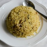chicken biryani using shan masala, with readymade biryani masala