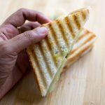 Bombay Grilled Sandwich Recipe, Grilled Veg Sandwich