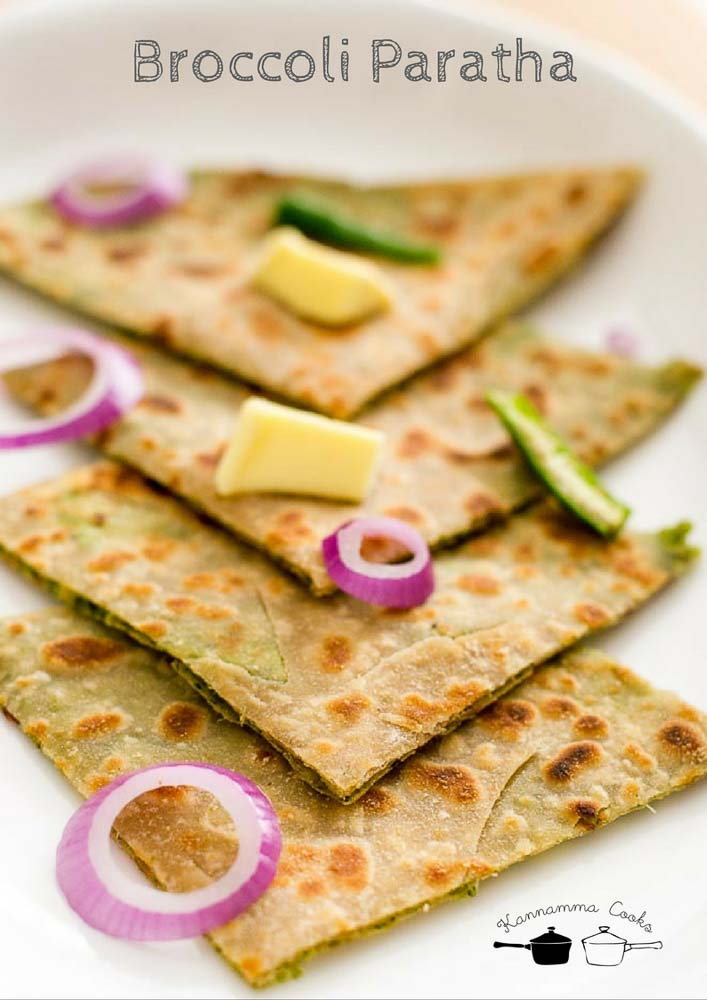 brocolli-paratha-recipe-easy