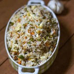Burnt Garlic Fried Rice, Garlic Fried Rice Recipe