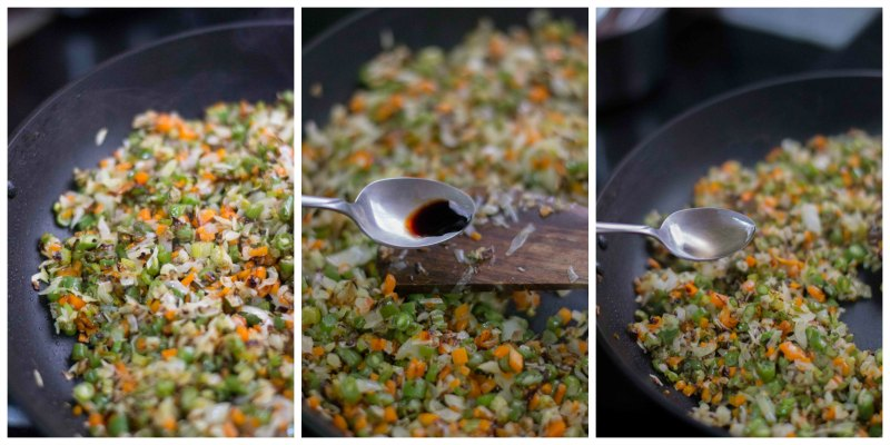 burnt-garlic-vegetable-fried-rice-indo-chinese-recipe-condiments